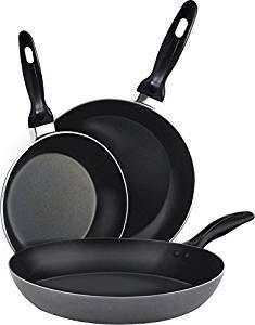 Utopia Kitchen Aluminum Nonstick Frying Pan Set