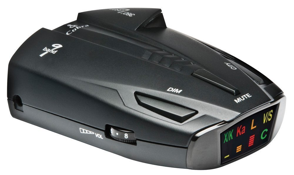Cobra ESD7570 9-Band Performance Radar/Laser Detector