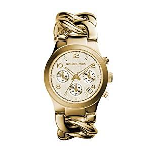 Michael Kors Women's Runway Gold-Tone Watch MK3131