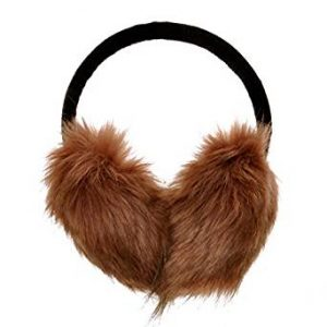 ZLYC Womens Adjustable Faux Fur Ear Muffs