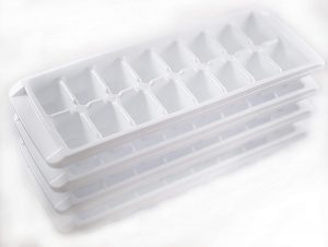 Kitch Easy Release White Ice Cube Tray