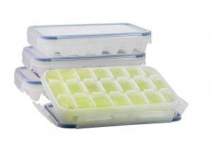 Komax Biokips Ice Cube Trays With Locking Lid