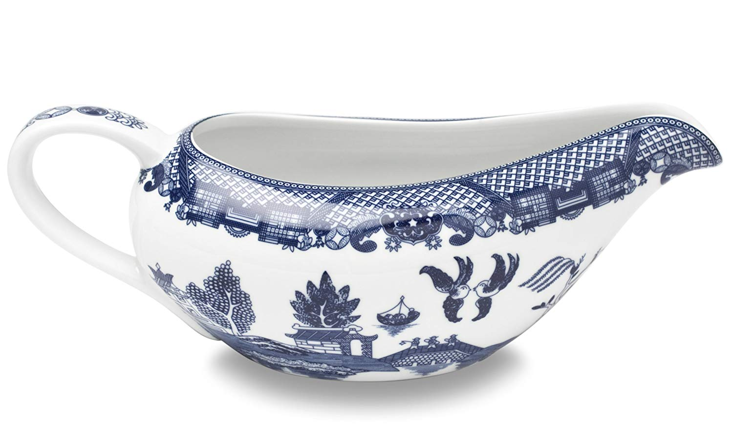 HIC Harold Import Co. YK-337 HIC Blue Willow Gravy Boat