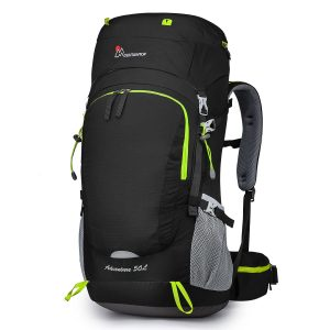 MOUNTAINTOP 50L/70L/80L Internal Frame Hiking Backpack