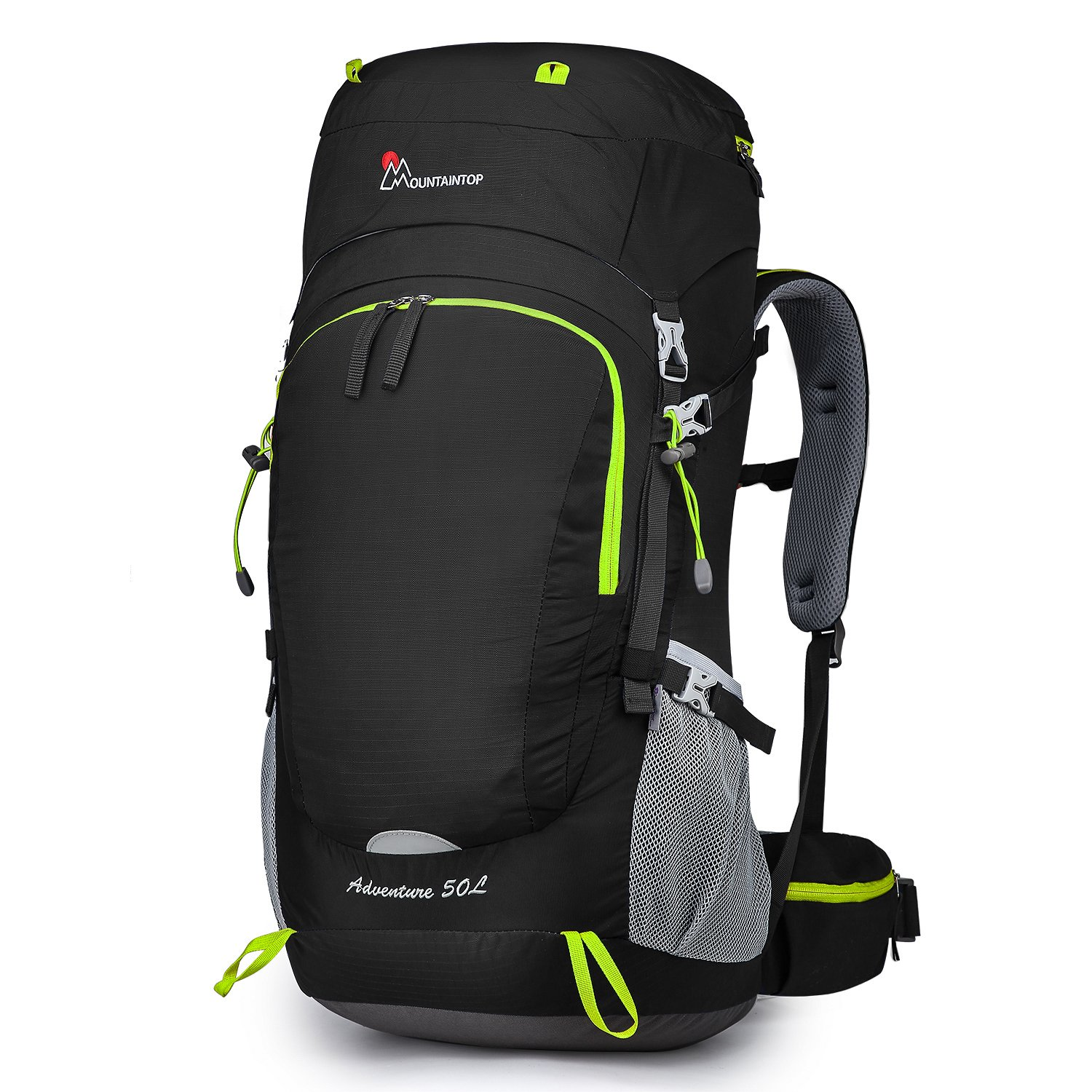 MOUNTAINTOP 50L/70L/80L Internal Frame Hiking Backpack
