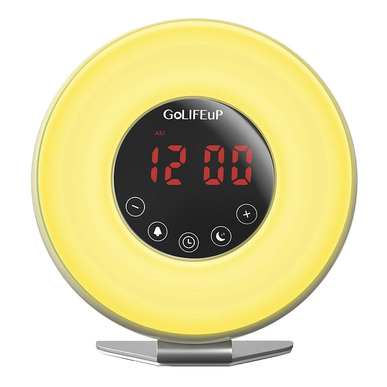Alarm Clock Radio with Sunrise and Sunset Simulation by GoLIFEuP