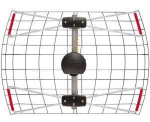 2 Element Bowtie Indoor/Outdoor HDTV Antenna
