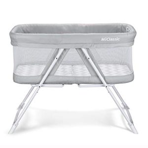 2in1 Rocking Bassinet One-Second Fold Travel Crib