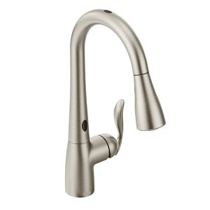 Moen Arbor Motionsense One-Handle High Arc Pulldown Kitchen Faucet
