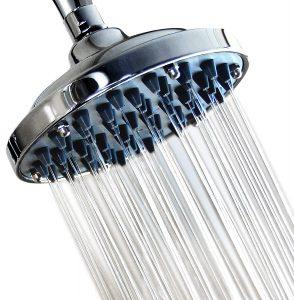 6 Inch High Pressure Rainfall Massage Shower Head