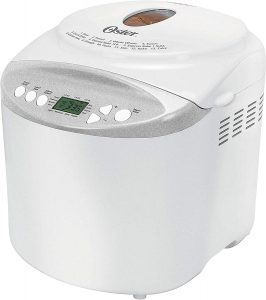 Oster Expressbake Bread Maker with Gluten-Free Setting, 2 Pound, White (CKSTBR9050-NP)