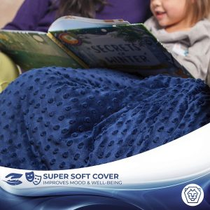 Roore 5 lb Weighted Blanket for Kids I 36