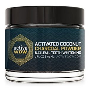 Active Wow Activated Coconut Charcoal Powder