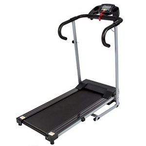 Best Choice Products Black 500W Portable Folding Electric Motorized Treadmill