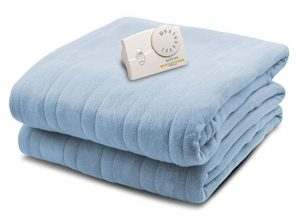 Biddeford Blankets Comfort Knit Heated Blanket