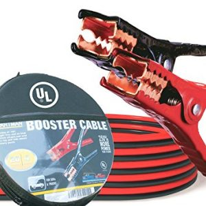 Cartman Booster Cable 4 Gauge x 20Ft in Carry Case