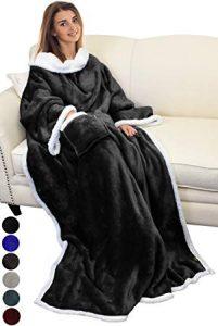 Catalonia Sherpa Wearable Blanket