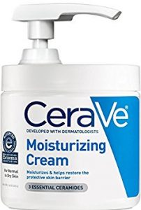 CeraVe Moisturizing Cream with Pump 16 oz Daily Face and Body Moisturizer