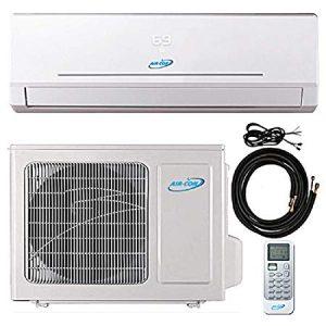 9000 Btu 21.5 SEER Ductless Mini Split Air Conditioner
