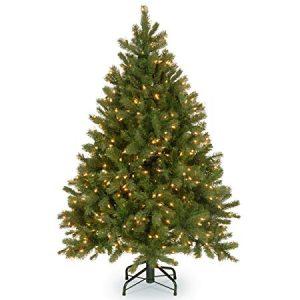 "National Tree 4.5 Foot ""Feel-Real"" Downswept Douglas Fir Tree"