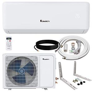 Klimaire KSIA 17 SEER 9,000 BTU Ductless Mini-Split Inverter Air Conditioner
