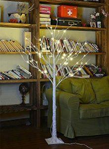 Lightshare 4FT 48L LED Birch Tree