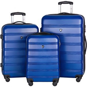 Merax Travelhouse Luggage Set 3 Piece