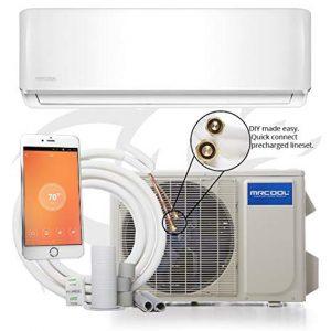 12k BTU 17.5 SEER MrCool DIY Ductless Heat Pump Split System