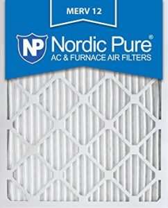 Nordic Pure Pleated AC Furnace Air Filter