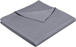 Pinzon Egyptian Cotton Herringbone Blanket
