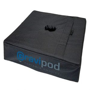 Premier Tents 18″x18″ Square Umbrella Base Weight Bag- Up to 100#