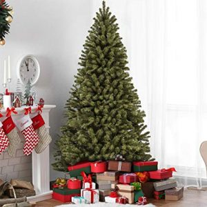 Best Choice Products 7.5′ Premium Spruce Hinged Artificial Christmas Tree