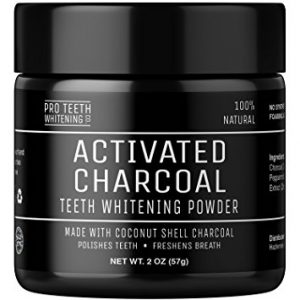 Pro Teeth Activated Charcoal Teeth Whitening Powder