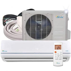 Senville 9000 BTU SENA-09HF/Z Energy Star Mini Split Air Conditioner Heat Pump