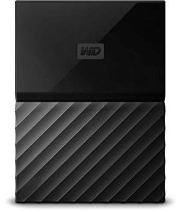 WD 4TB Black My Passport Portable External Hard Drive