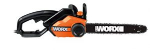 WORX WG303.1 16-Inch 14.5 Amp Electric Chainsaw with Auto-Tension, Chain Brake