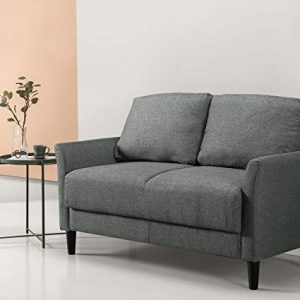 Zinus Jackie Classic Upholstered 53.5 Inch Sofa