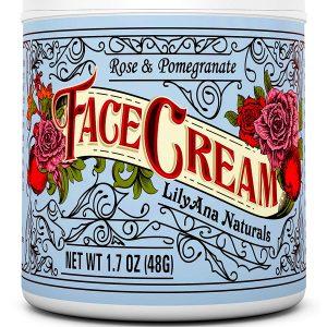 Face Cream Moisturizer by LilyAna Naturals