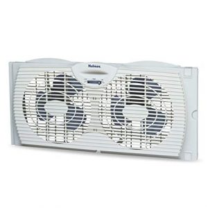 Holmes Window Fan with with Twin 6-Inch Reversible Airflow Blades